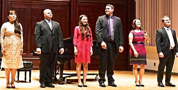 2015 graduate student singers