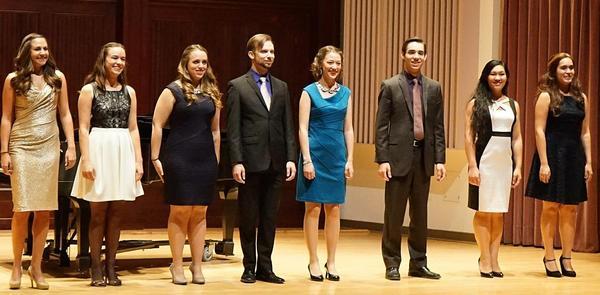 2015 undergraduate singers