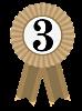 Third Place ribbon
